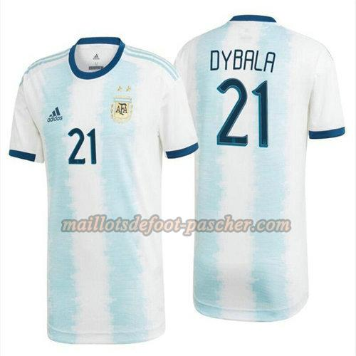 maillot argentine 2020 domicile dybala 21