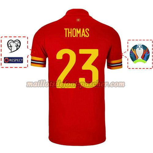maillot galles 2020 domicile george thomas 23