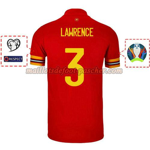 maillot galles 2020 domicile james lawrence 2