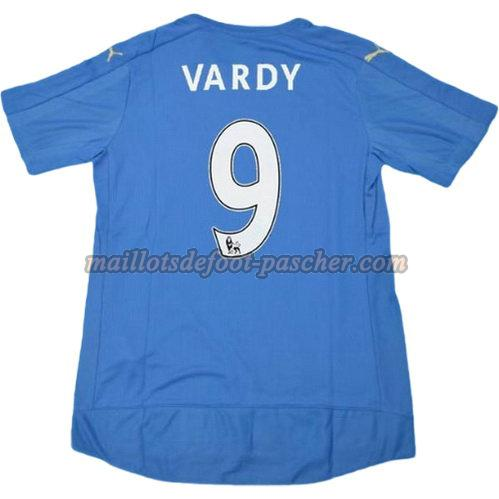 maillot leicester city 2015-2016 domicile vardy 9