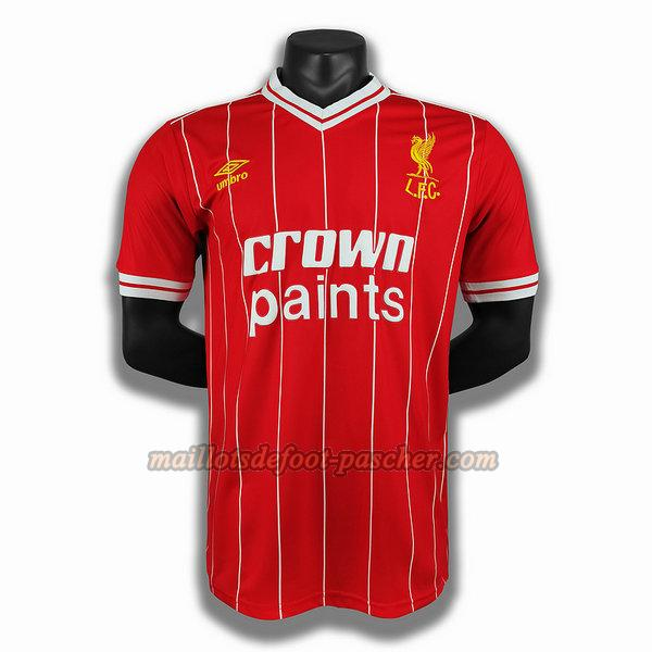 maillot liverpool 1984 domicile player rouge