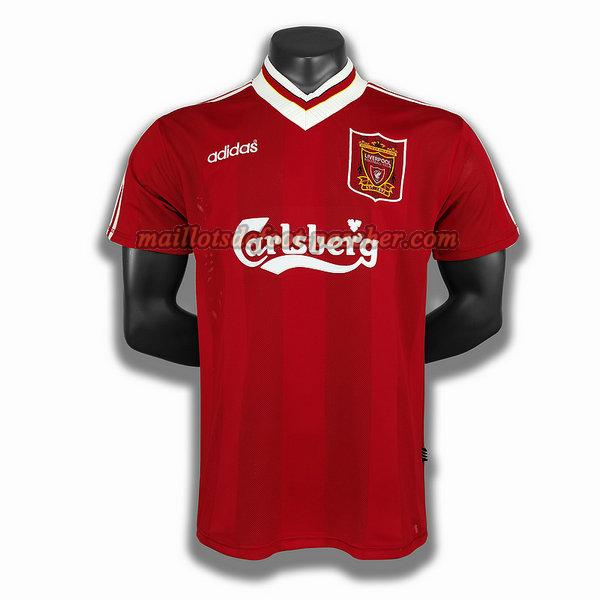 maillot liverpool 1995 domicile player rouge