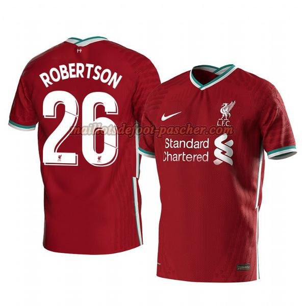 maillot liverpool 2020-2021 domicile andrew robertson 26