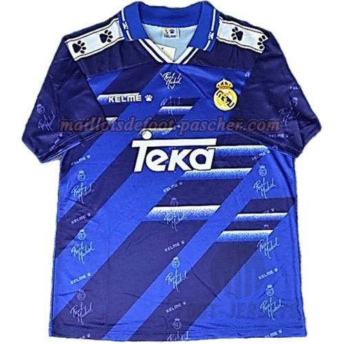 maillot manche courte real madrid 1994-1996 exterieur