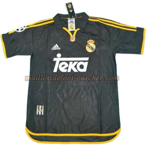maillot manche courte real madrid 1999-2000 exterieur