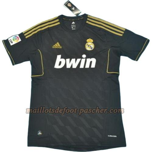 maillot manche courte real madrid 2011-2012 exterieur