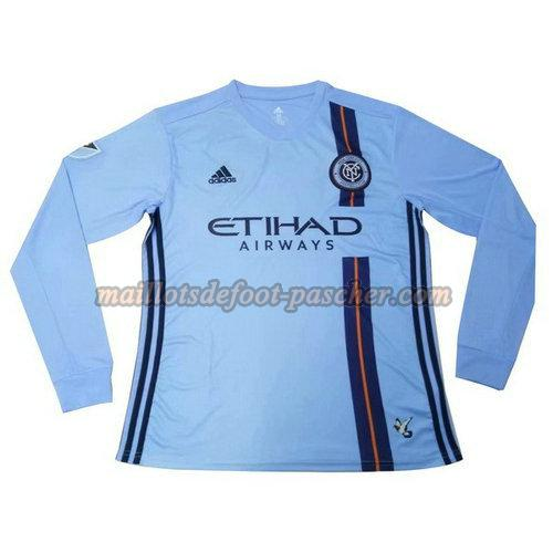 maillot manches longues new york city 2019-2020 domicile
