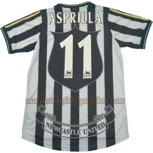 maillot newcastle united 1997-1999 domicile asprilla 11