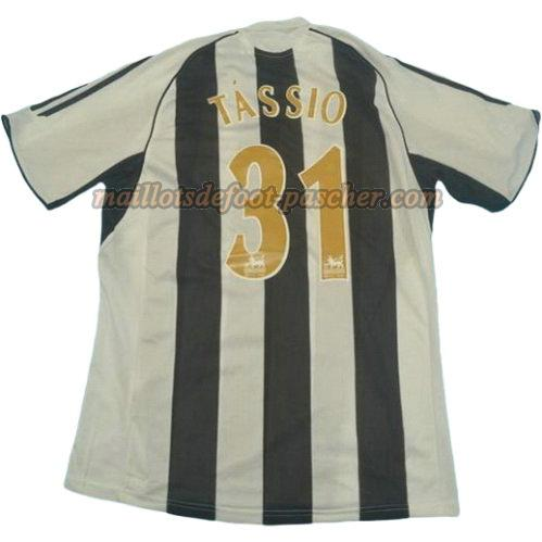 maillot newcastle united 2005-2006 domicile tassio 31