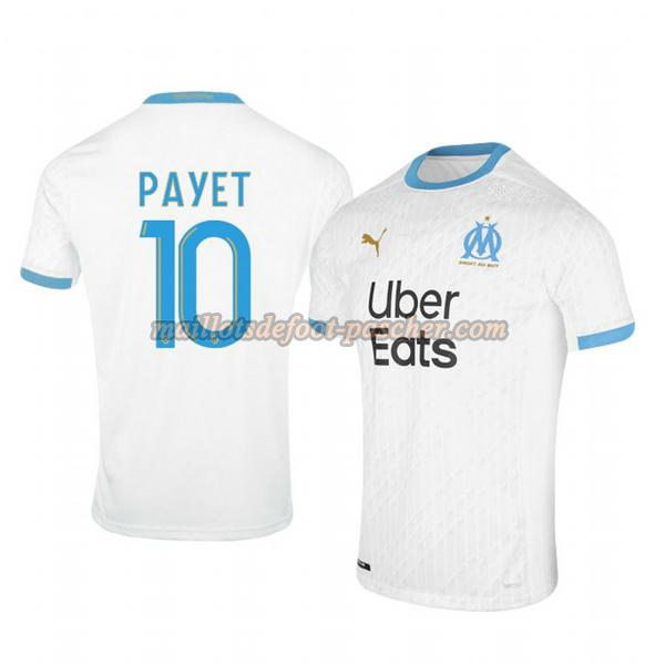 maillot om marseille 2020-2021 domicile dimitri payet 10