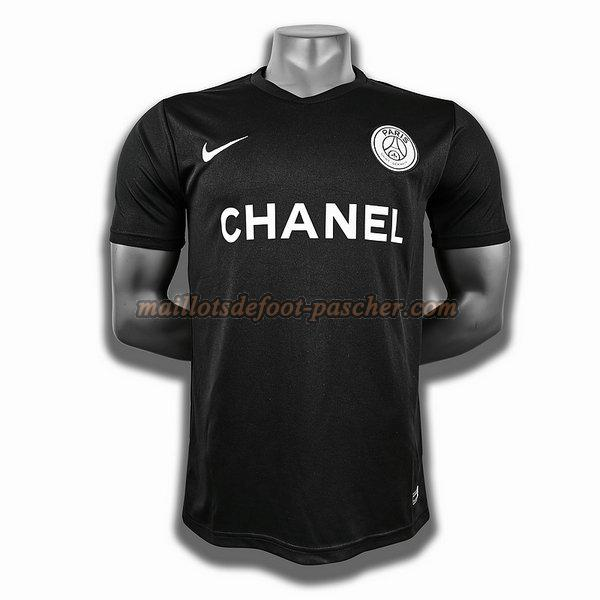 maillot psg training player noir