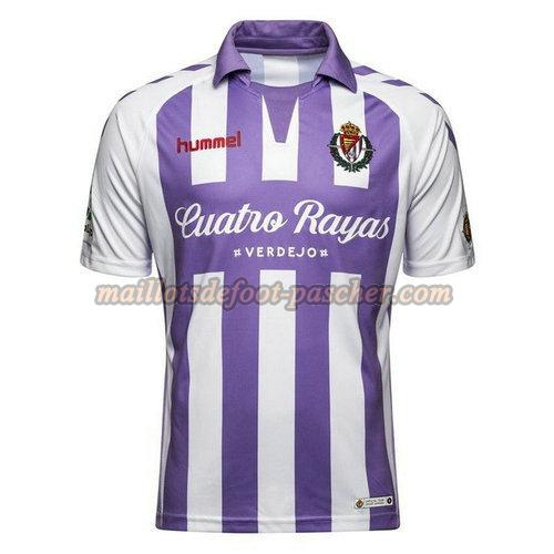 maillot real valladolid 2018-2019 domicile