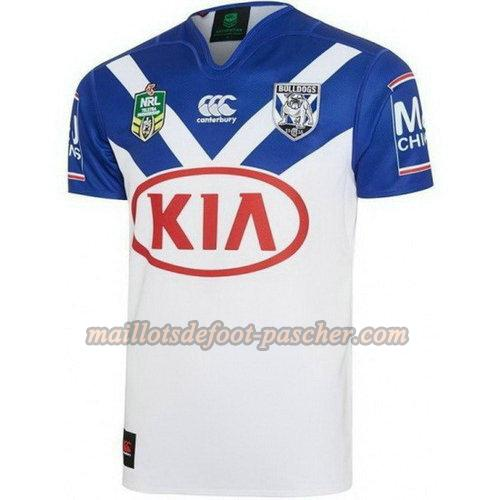 maillot rugby canterbury bankstown bulldogs 2017-2018 domicile blanc