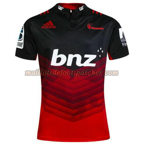 maillot rugby crusaders 2017-2018 domicile rouge