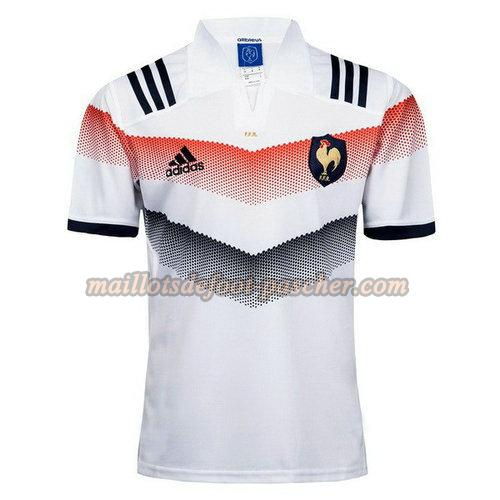 maillot rugby france 2017-2018 exterieur blanc