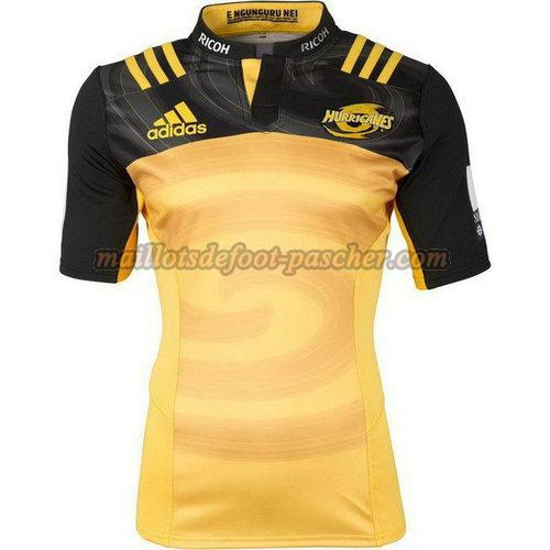 maillot rugby hurricanes 2017-2018 domicile jaune