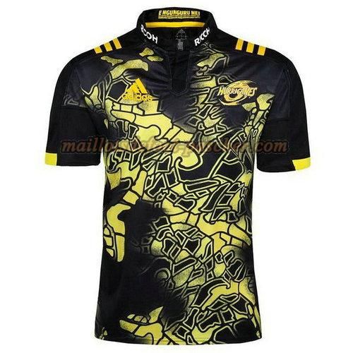 maillot rugby hurricanes 2017-2018 noir