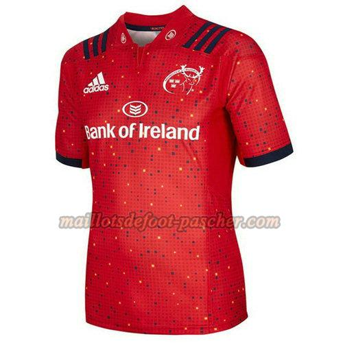 maillot rugby munster 2018-2019 domicile rouge