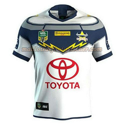 maillot rugby north queensland cowboys 2018 exterieur blanc