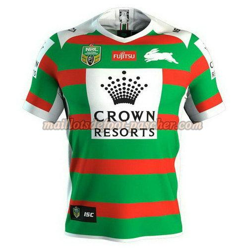 maillot rugby south sydney rabbitohs 2018 exterieur vert
