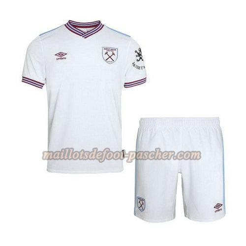 maillot west ham united 2019-2020 exterieur enfants